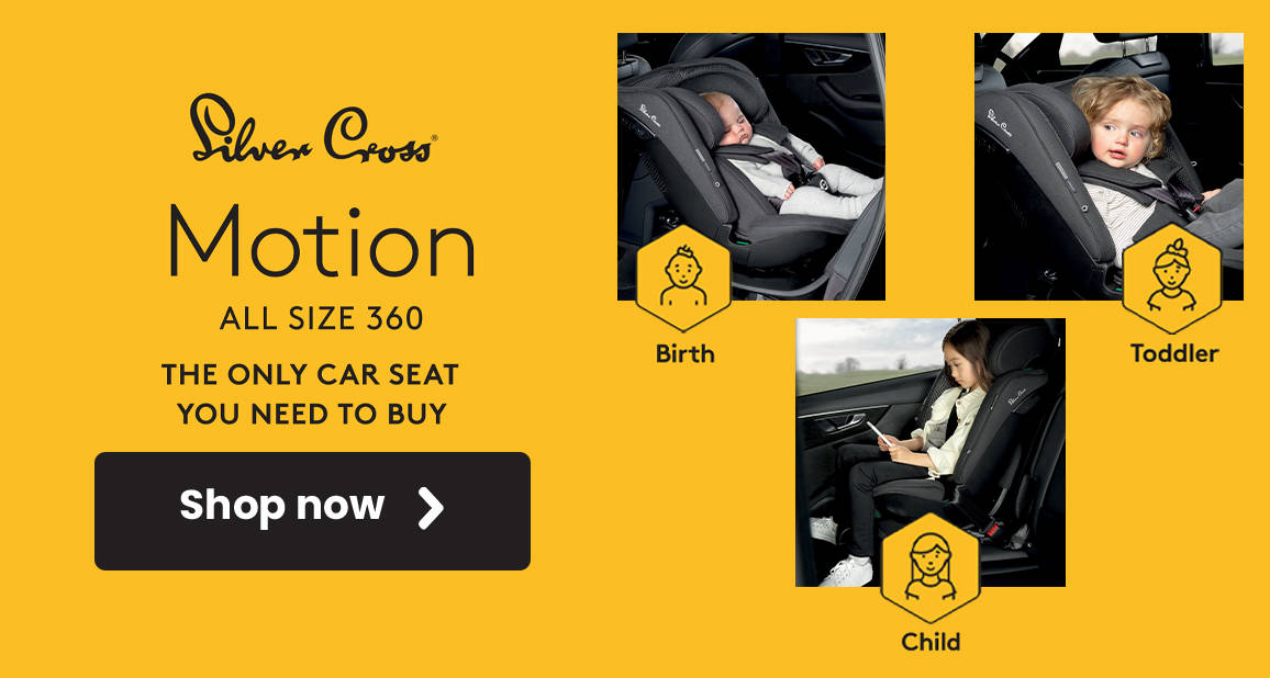 Silver Cross Motion All Size 360 i-Size Car Seat