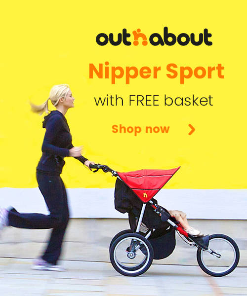 Out n About Nipper Sport with FREE basket