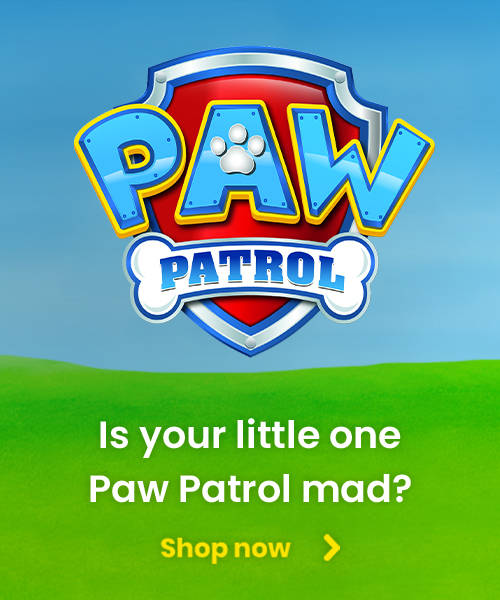 Is your little one Paw Patrol mad?